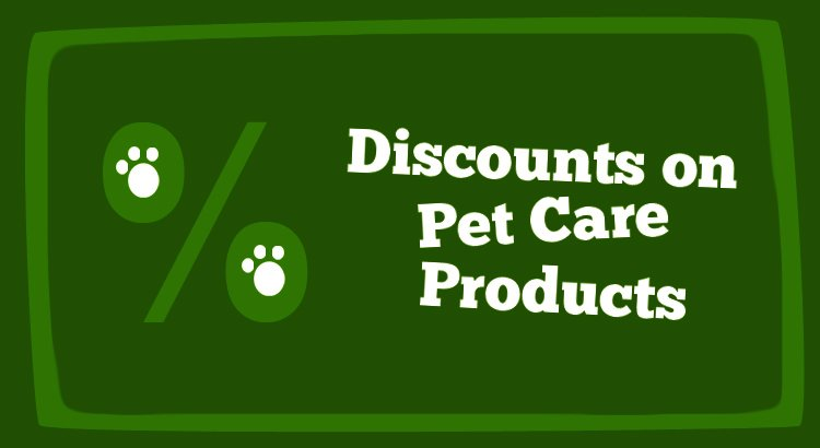 Discounts on Pet Care Products - CouponToPay Coupons