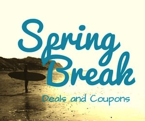 spring break deals and coupons