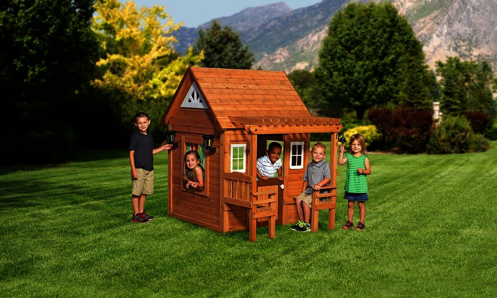 Create hilarious kids with swing sets coupontopay blog for Cascade house