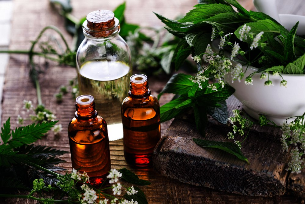 Aromatherapy through diffusers