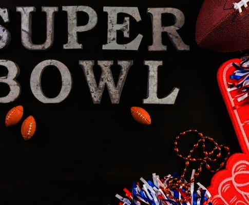 Checkout the super bowl deals, tickets, food, and fan apparels